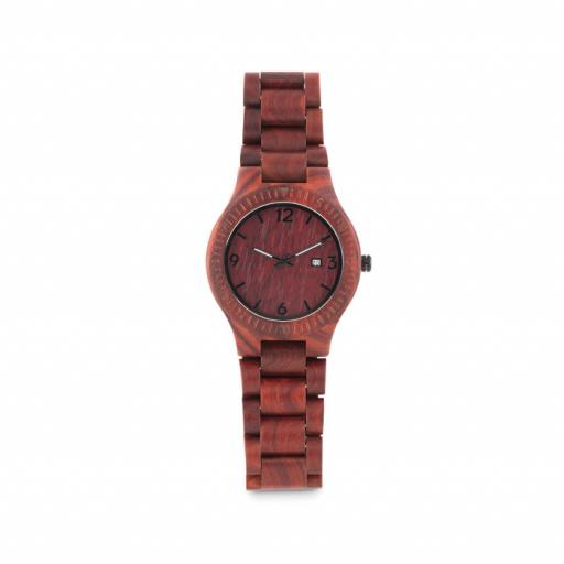 SAN GALLEN Wooden Watch in box