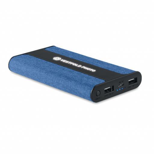 POWERFABRIC Fabric power bank 6000 mAh