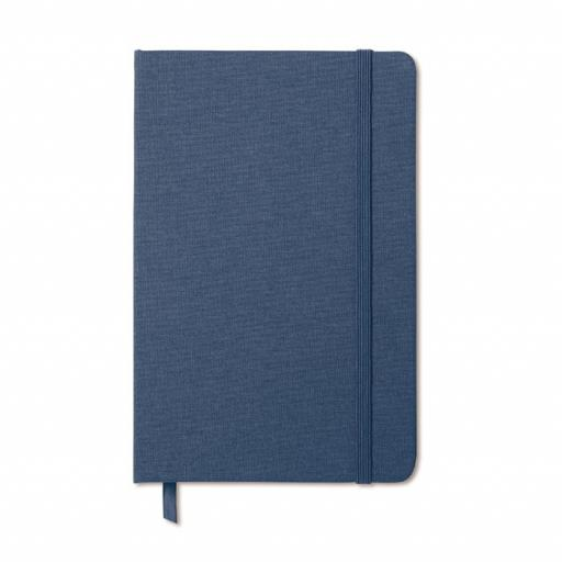 FABRIC NOTE Two tone fabric cover notebook