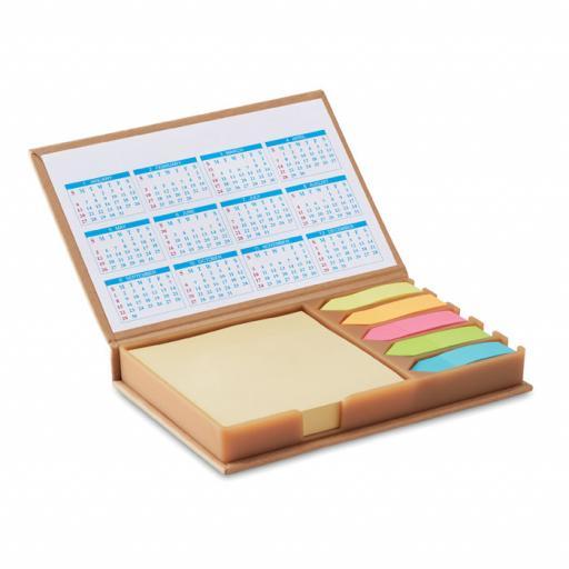 MEMOCALENDAR Desk set memo with calendar