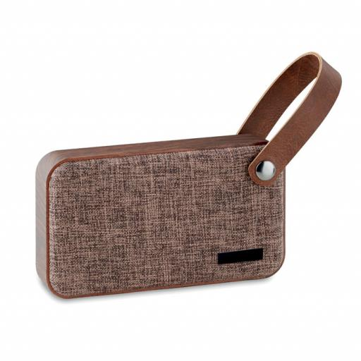 CLASSIC Bluetooth speaker w MDF fabric