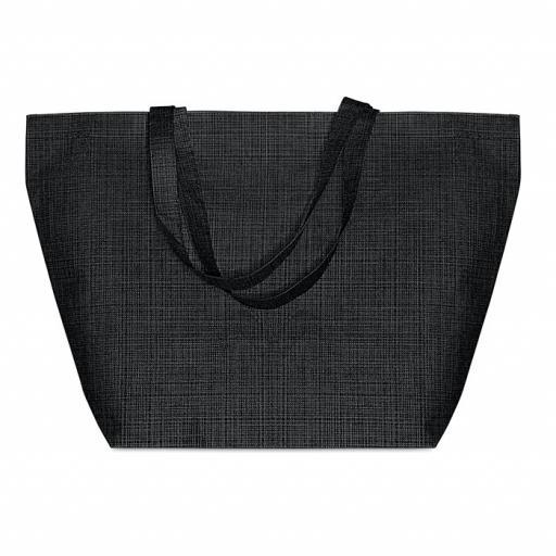 DUO BAG 2 tone non woven shopping bag