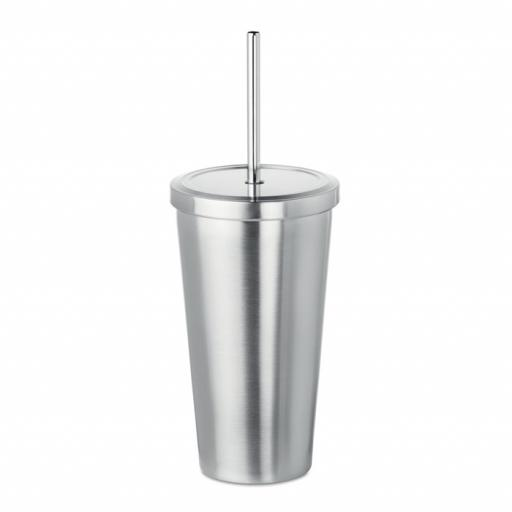 BLOODY MARY 500ml double wall cup & straw