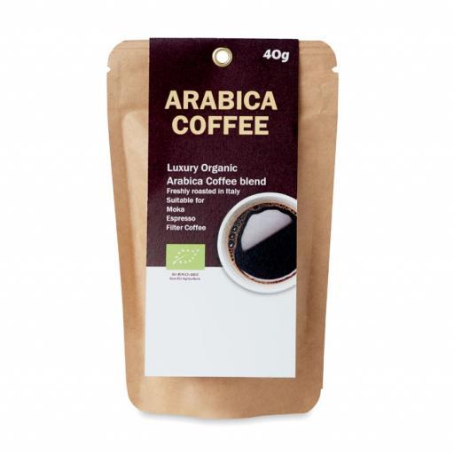 ARABICA 40 Organic Arabica Coffee 40g