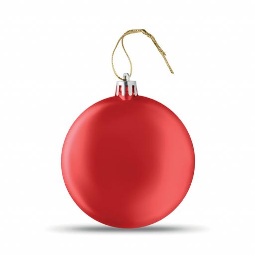 LIA BALL Flat Christmas bauble