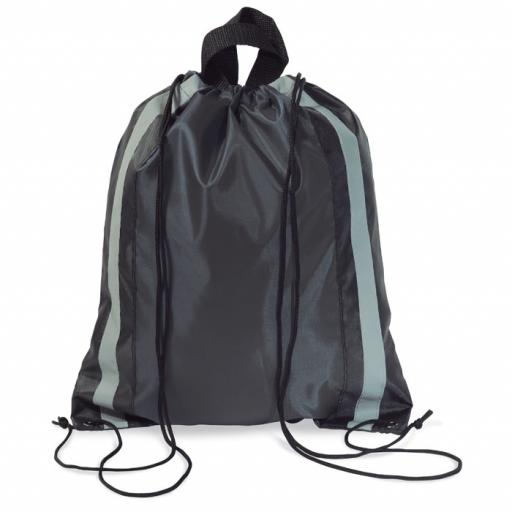 GLITTERBAG Reflective drawstring bag