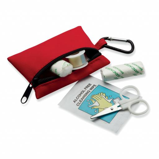 MINIDOC First aid kit w/ carabiner