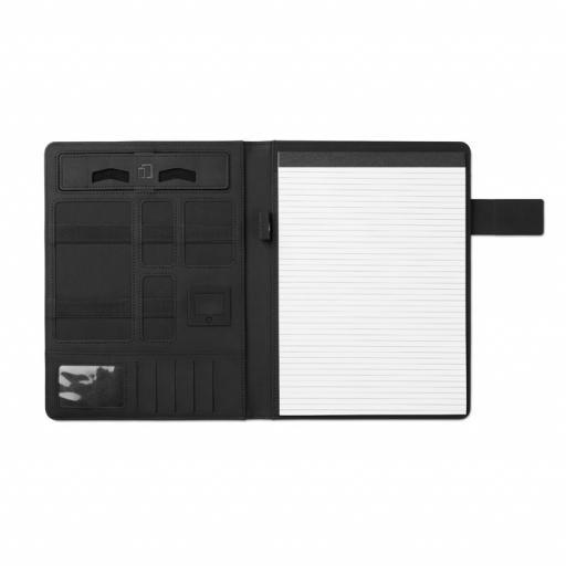 POWERFOLDY A4 portfolio with power bank