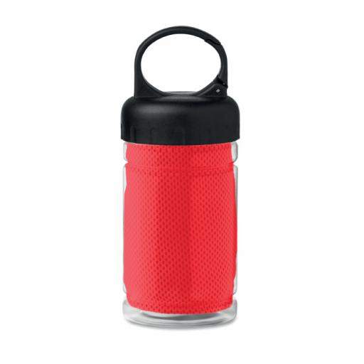 FRIS Cooling towel in PET bottle