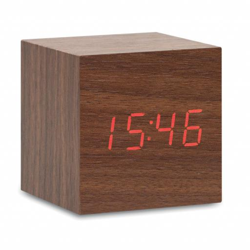BUENOS AIRES MINI LED clock in MDF