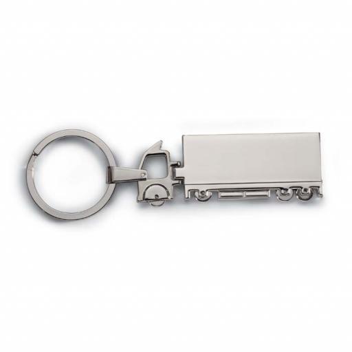 TRUCKY Truck metal key ring
