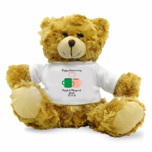 Happy Anniversary – Mug Love - Teddy Bear