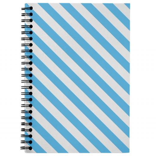 NoteBook - Wiro Bound - Front and Back Page Printed - 14.8cm x 21.0cm