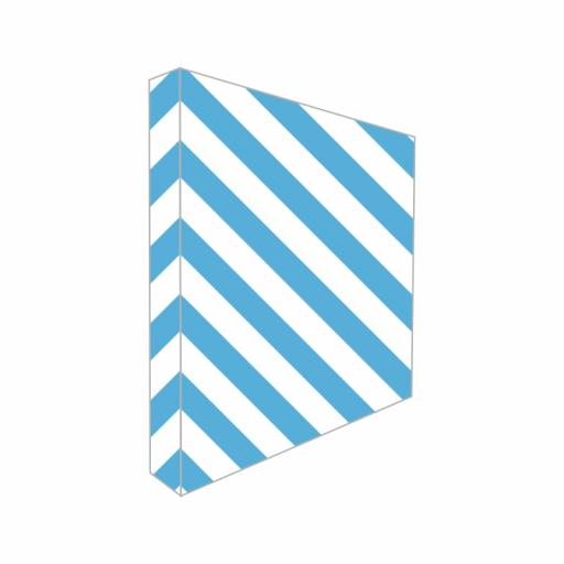 Textile Hop Up Back Drop Display Stand (3x3) kit