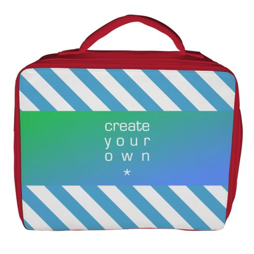 Lunch Bag - Polyester - Red