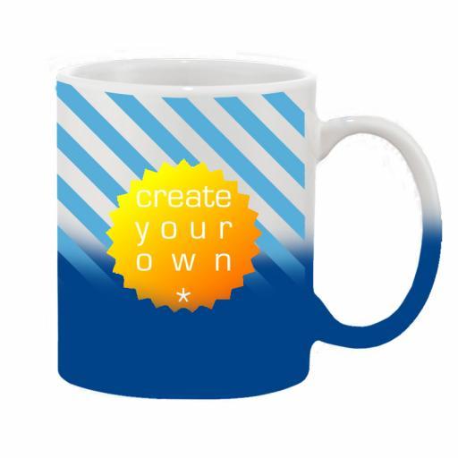 11oz Ceramic Mug Colour Change Blue