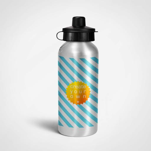 Sports Bottle - Silver - Aluminium - 400ml