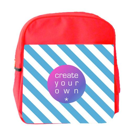 Backpack - Polyester - Red